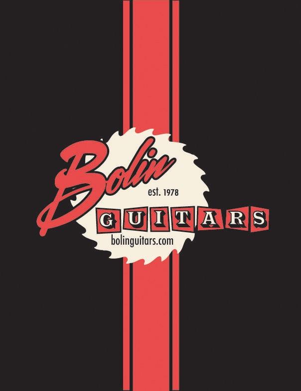 Bolin Guitars t-shirt logo